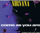 NIRVANA Come As You Are CD Single Geffen 1992.